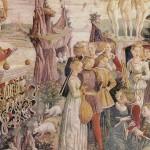 Le triomphe de Vénus de Francesco del Cossa(1469-1470) - The Yorck Project: 10.000 Meisterwerke der Malerei. DVD-ROM, 2002