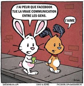 Lapin Facebook J'aime