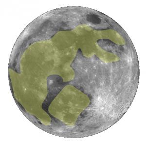 Le Lapin de jade sur le Lune - Chine