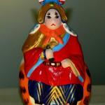 Figurine asiatique représentant un lapin costumé de 用心阁/Yongxinge (xxie siècle)