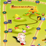 Colline du lapin de Pâques de Candy Crush Saga