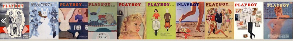 Premières couvertures Playboy