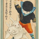Représentation d'un lapin en Asie