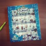 Stickers Lapins Crétins - vue de face