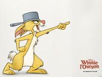 Fond d'écran Coco Lapin - Winnie l'ourson