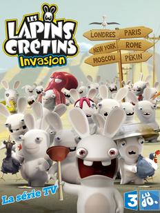 Affiche Lapins Crétins France 3