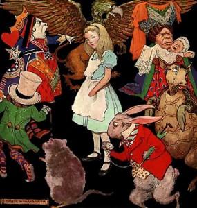 Alice au pays des merveilles de Lewis Carroll - Peter Newell