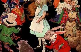 Le Lapin Blanc - Alice aux pays des merveilles