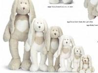 Teddy Cream Kanin, 6 tailles différentes - Teddykompaniet
