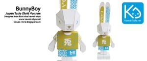 Paper-toy de Bunny Boy de Ivan Ricci - www.papertoysart.com