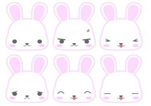Autres expressions de lapins - Source inconnue