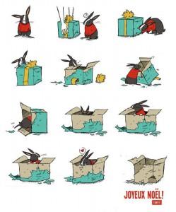 Joyeux Noel pour un Lapin - Cab 10