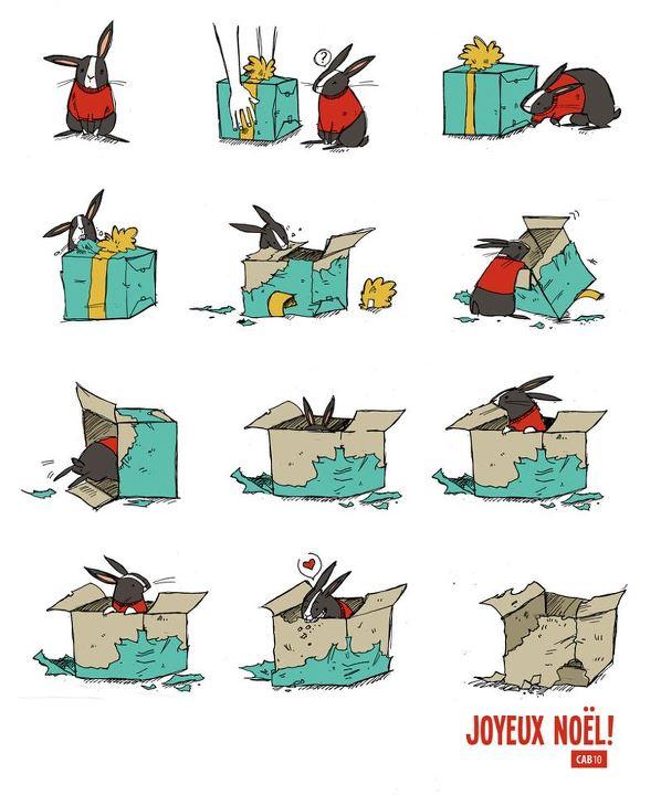 Joyeux Noël Le Monde Des Lapins Tout Sur Les Lapins