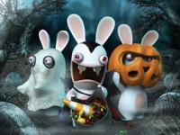 Halloween poster - Lapins Crétins