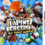La pochette du jeu : Les Lapins Crétins : La grosse bagarre
