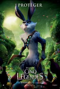 Bunny (poster) Les cinq légendes