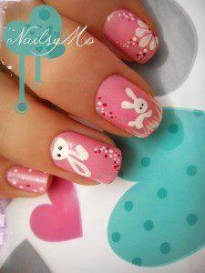 Des lapins jusquau bout des doigts - Nailsy Mo