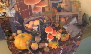 Lapin aperçu dans la vitrine d'une boulangerie - www.le-monde-des-lapins.fr