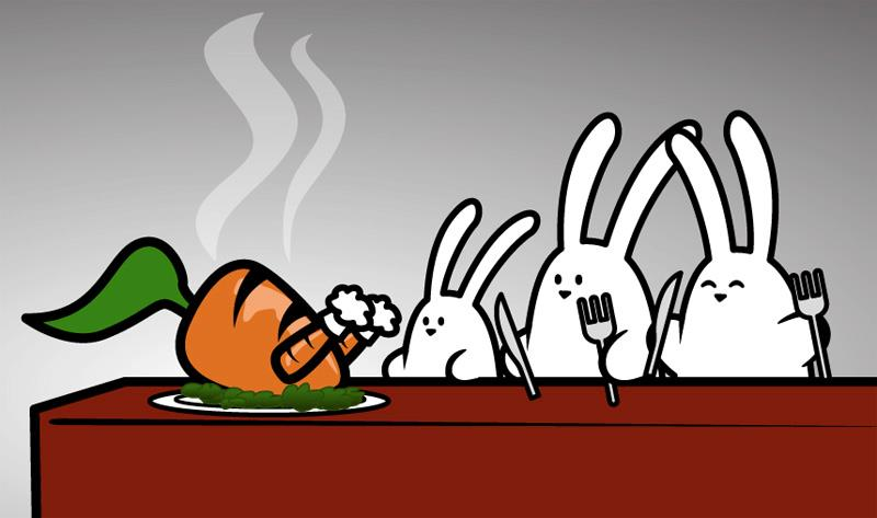 les carottes sont cuites sur apln-blog