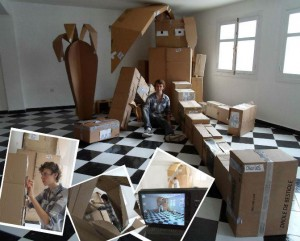 Lapin recyclé de Charles - www.madein-marrakech.com