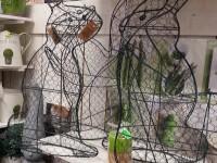 Structures grillagées en forme de lapin pour Jardin - ©www.le-monde-des-lapins.fr