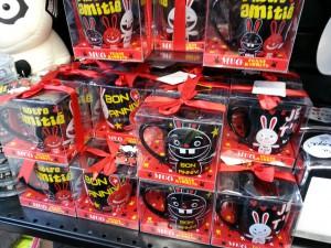 Mugs Funny Rabbits - au Chapitre de Saint-Brieuc - ©www.le-monde-des-lapins.fr