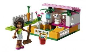 La maison du lapin d'Andréa - Lego