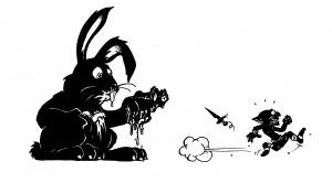 Le mechant lapin des bois - LES GOBLIN'S ! Une Bande dessinée de Corentin MARTINAGE et Tristan ROULOT