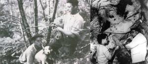 L'abbé Breuil est prévenu que le chien Robot a déniché la grotte de Lascaux. - Le Point 21 septembre 1940