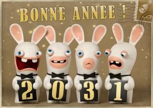 Voeux 2013 des Lapins Crétins