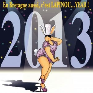 En Bretagne aussi, c'est LAPINPU ... YEAR ! Mam Goudig
