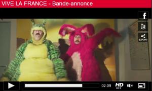 Déguisement de lapin dans Vive la France - Capture de la bande annonce