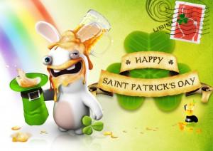 Saint-Patrick - Lapins Crétins