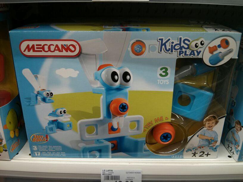 Meccano - Le Lapin Kids Play pour enfants de 2ans