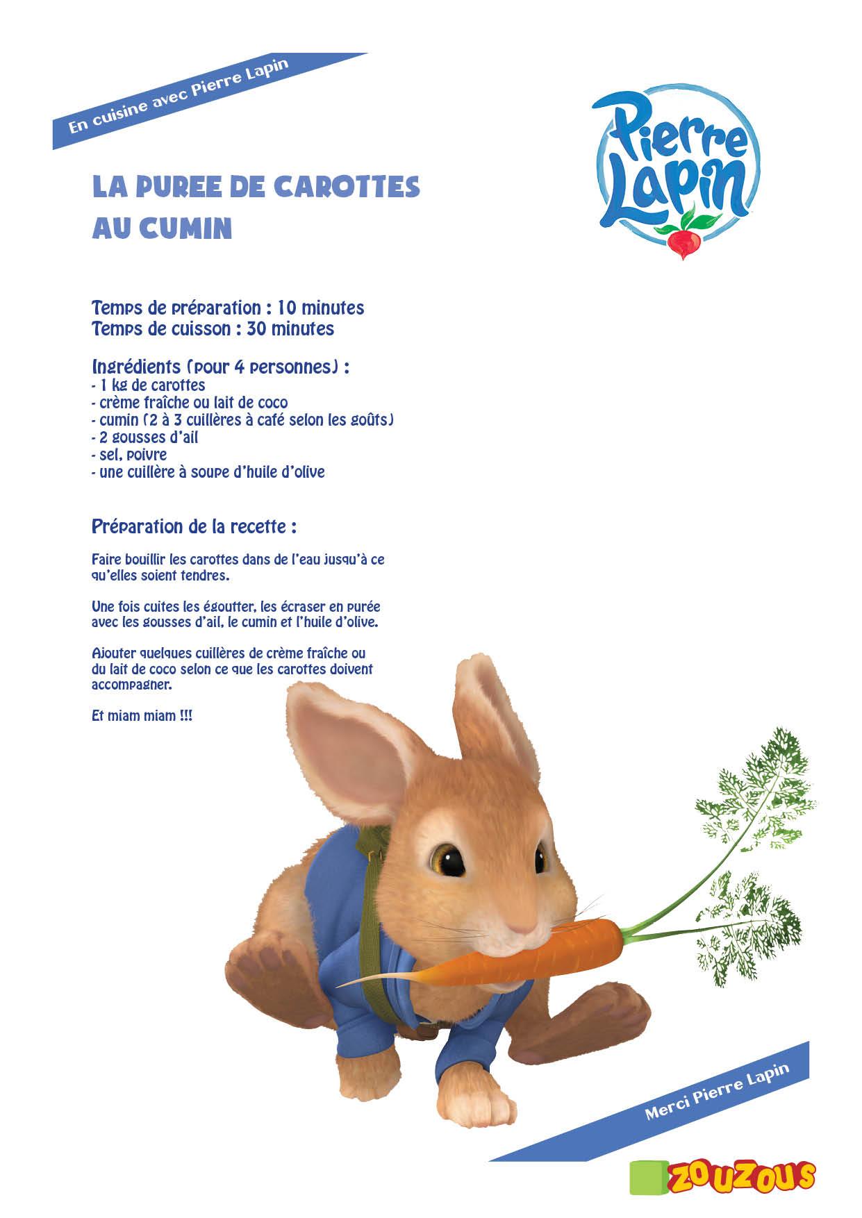 Pierre lapin le monde des lapins tout sur les lapins esp ce litt rature jeux c l bres - Dessin anime zouzous france 5 ...