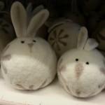Lapins décoratifs - magasin Casa