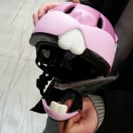 casque de vélo lapin