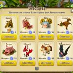 Animaux de Fantasy Garden