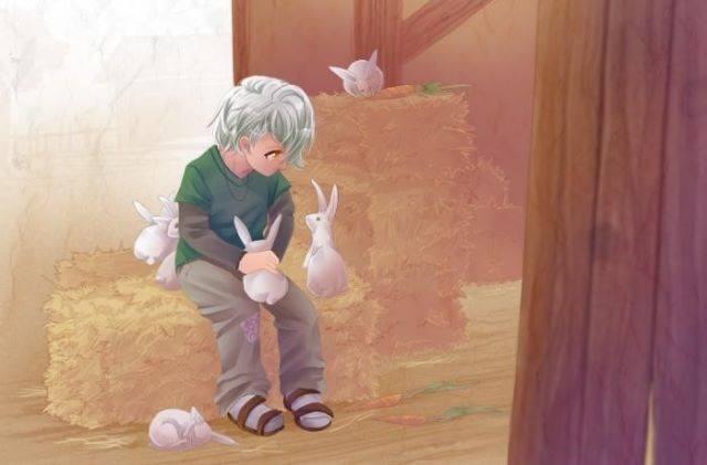 dessin lapins auteur inconnu
